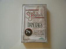 SCOTT JOPLIN PIANO RAGS PERFORMED BY STEWART & BRADLEY JAMES CASSETTE TAPE NEW