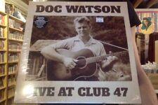 Doc Watson Live at Club 47 2xLP sealed vinyl + download
