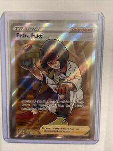 Pokemon - Petra Fakt 067/072 - Trainer Fullart - Glänzendes Schicksal - Deutsch