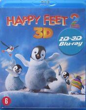 HAPPY FEET 2 - 3D  - BLU-RAY 3D + 2D (2 DISC COMBIPACK)