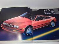 1984 Chevrolet Chevy Cavalier 20-page Sales Brochure Catalog - Convertible