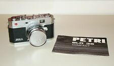 Vintage Petri F1.9 Color Corrected Super Kuribayashi Camera 4.5cm