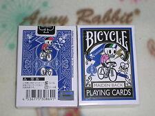 1 decks of Bicycle TOKIDOKI DECK Playing Cards BLUE BY SIMONE LEGNO