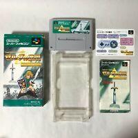 The Legend of Zelda: A Link to the Past w/box Super Famicom SFC SNES Japan 510