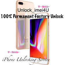 T-MOBILE iPhone 8 / 8+ PRIORITY PERMANENT FACTORY UNLOCK Service 100% Guaranteed