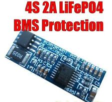 4S 2A  4-cell 12.8V 14.4V LiFePO4 Battery BMS Circuit IFR Protection module