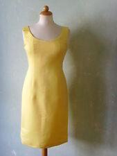 MUREK fashion Kleid gelb Figurbetont klassisch eng Business Größe 36 S  (S10)