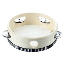 "6"" Musical Tambourine Tamborine Drum Round Percussion for KTV Party Z4F9"