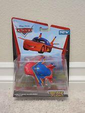 Disney Pixar Cars LIGHTNING McQUEEN HAWK Take Flight Deluxe Air Mater Die Cast P