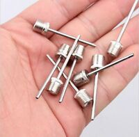 10 X Football-Basketball Soccer Ball Inflating Pump Needle Valve Adaptor Air