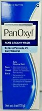 Panoxyl 4 Acne Creamy Face Wash 6oz -Expiration Date 07-2021-