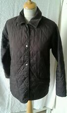 Barbour liddesdale quilted  windproof  brown Jacket  size 10 chest 38 .. hunting