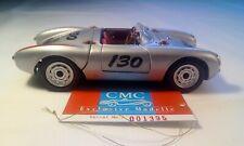 """Rare/early CMC 1954 Porsche 550 Spyder #130 M-004-1:24th -""""The James Dean Car"""""""