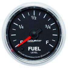 """Auto Meter 3810 2-1/16"""" Fuel Level Gauge Stepper Motor GS"""