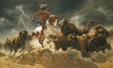 Frank McCarthy Flashes of Lightning 3 print suite LE COA mint condition
