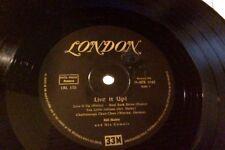 """MEGA RARE 1955 Bill Haley & His Comets LIVE IT UP album 10"""" 33 rpm German press"""