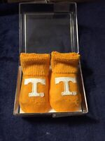 Texas NCAA College Football Newborn Navy Socks Booties Box Set New