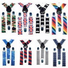 0eba5dda7c1cb SPIRIUS Adjustable Kids Braces Trousers Suspenders Children Boys Girls Party