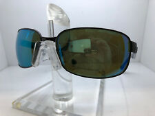 Authentic RAY BAN SUNGLASSES RB 3566CH 004/A1 GUNMETAL/GREEN BLUE MIRROR POLARIZ