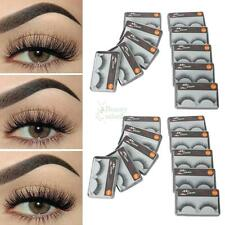 New 20 Pairs False Natural Thick Fake Eyelashes Fake Eye Lashes Makeup Extension
