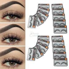 New 20 Pairs False Natural Thick Fake Eyelashes Fake Eye Lashes Makeup Extension