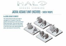 Spartan Games Halo Ground Command BNIB Jackal Assault Unit HGCV09