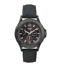 Timex Retrograde Men's Quartz Black DIAL Watch T2P178 - New With Tag