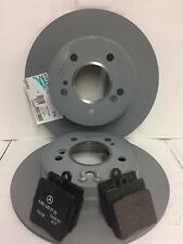 Genuine Mercedes-Benz R171 SLK REAR Brake Discs & Brake Pads Kit NEW!