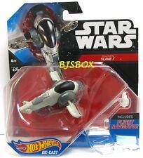 Hot Wheels Star Wars BOBA FETT'S SLAVE 1 #16 Fighter Starship Disney New NIP