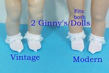 """SMD Promotions Sharyn Davis Doll Clothes White Plaid Shirt /& Overalls 8/"""" doll"""