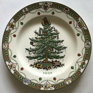 Spode Christmas Tree Annual Collector's Plate - Year 1999