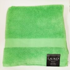 "New Ralph Lauren Wescott Island Green,100% Cotton Bath Towel 30""x 56"""