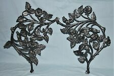 Architectural Salvage Cast Metal Fragments Garden Porch Door Roses
