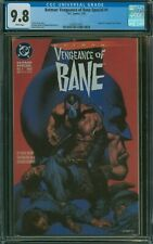Batman: Vengeance of Bane Special #1 CGC 9.8 First Appearance White Pages