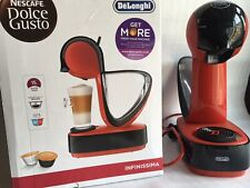 DOLCE GUSTO by De'Longhi Infinissima EDG260.R 1600W Coffee Machine - Red & Black