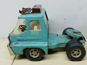 Vintage ERTL Sears Roebuck Semi Truck Pressed Steel *Cab Only*