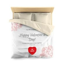 Happy Valentine Bed Cover Surprise
