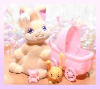 ❤️Vtg Li'l Lil Litters My Little Bunny Pony MLP CUDDLY COTTONTAIL Mommy Rabbit❤️