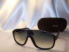 Authentic! Tom Ford Sunglasses Elliot TF 335 c 02W   Matt Black / Silver