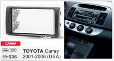 CARAV 11-336 Car 2DIN Radio DVD Frame Fascia Dash Panel Fits for TOYOTA Camry
