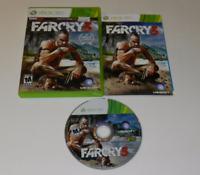 Far Cry 3 Microsoft Xbox 360 Video Game Complete