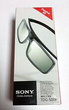 2x Brand New Genuine Sony TDG-500P Passive 3D Glasses TGD500P  - NEW SEALED