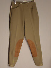 Tailored Sportsman Side Zip Riding Breeches Beige 26 NWT $175