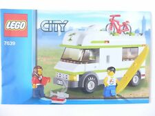 Lego 7639 Bauanleitung City Wohnmobil OBA Instructions Camper