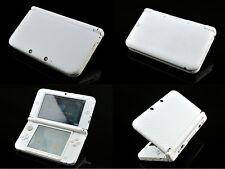 White Carbon Fiber Vinyl Decal Skin Sticker for Nintendo 3DS XL/LL