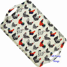ROOSTER design LARGE Melamine Lap Tray with Handles - Ulster Weavers - 8ROO06