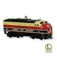 2010 Hallmark Kansas City Southern Locomotive Ornament Lionel Train limited New
