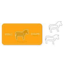 Midori D-Clips - Horse Paperclips - 30- kawaii -made for Japan market - USA ship