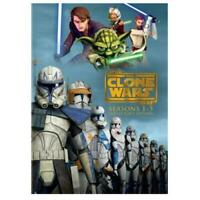 Star Wars The Clone Wars Season 1-5 Complete Series Season 1 2 3 4 5 (DVD)
