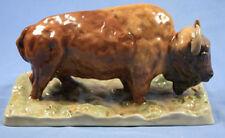 Bison TORO personaggio Dresda PORCELLANA PERSONAGGIO bisonte europeo PORCELLANA delome